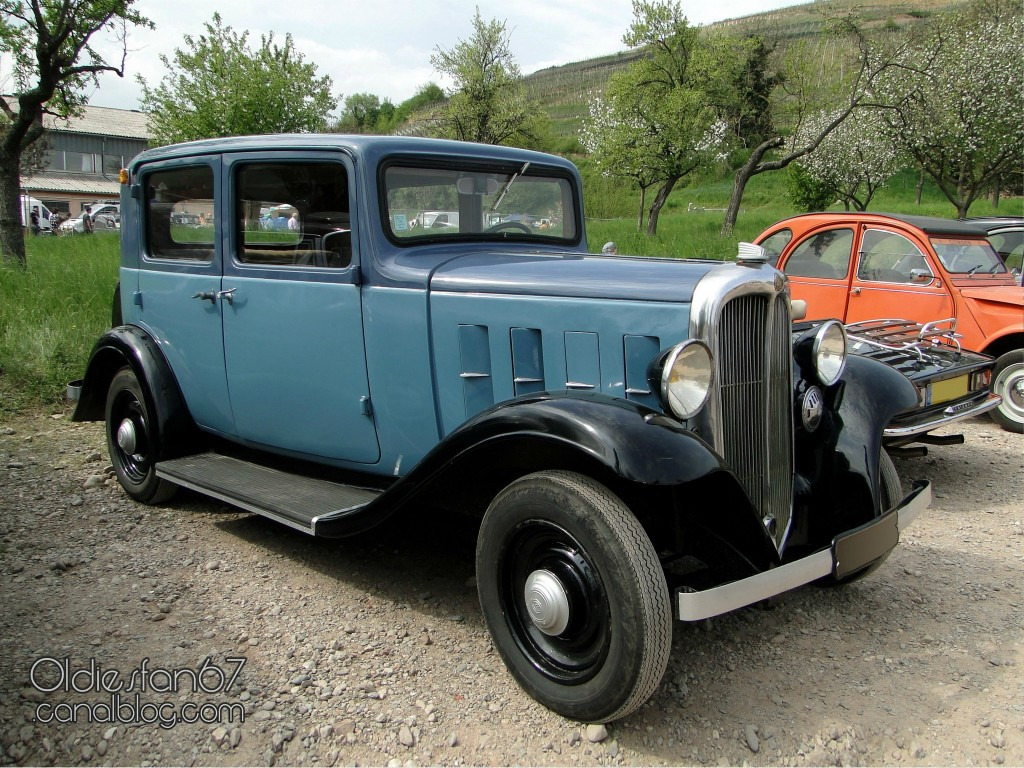 Citroen Rosalie 1934 - Original Picture