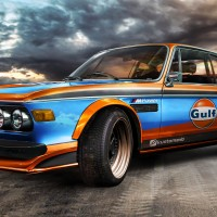 BMW 3.0 CS 1971 - Gulf Style