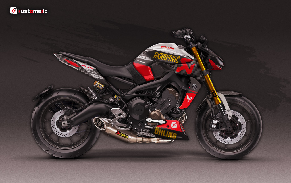 Ohlins and Akrapovic Tribute